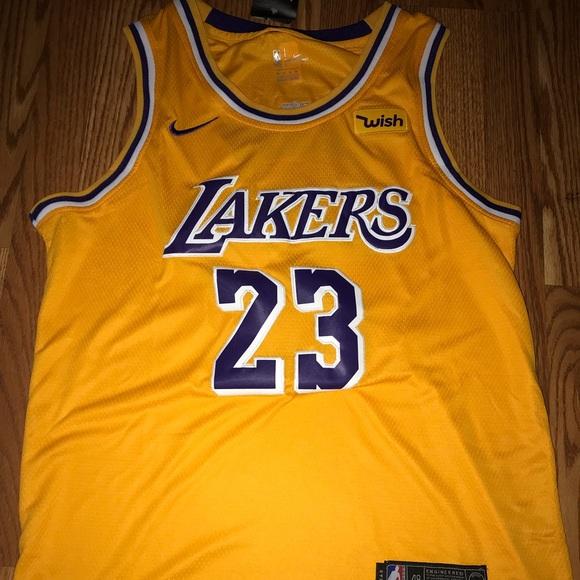 553934aceb8 Nike Shirts | Lbj La Lakers Jersey | Poshmark